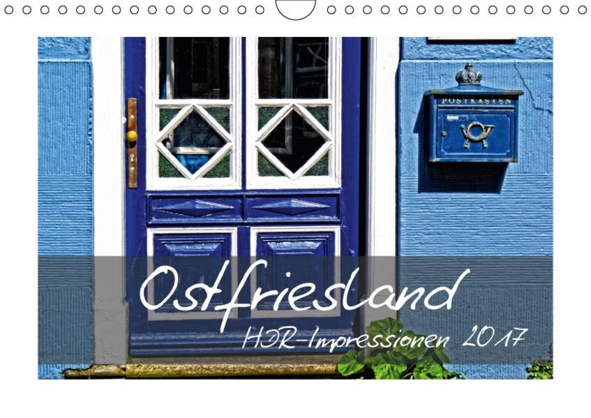 Ostfriesland HDR-Impressionen 2017 (Wandkalender 2017 DIN A4 quer) - Coverbild