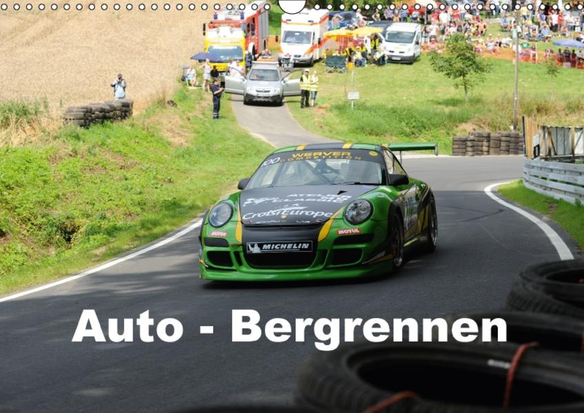 Auto - Bergrennen (Wandkalender 2017 DIN A3 quer) - Coverbild