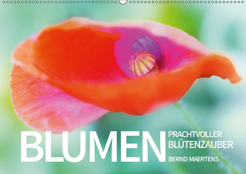 BLUMEN Prachtvoller Blütenzauber (Wandkalender 2017 DIN A2 quer) - Coverbild