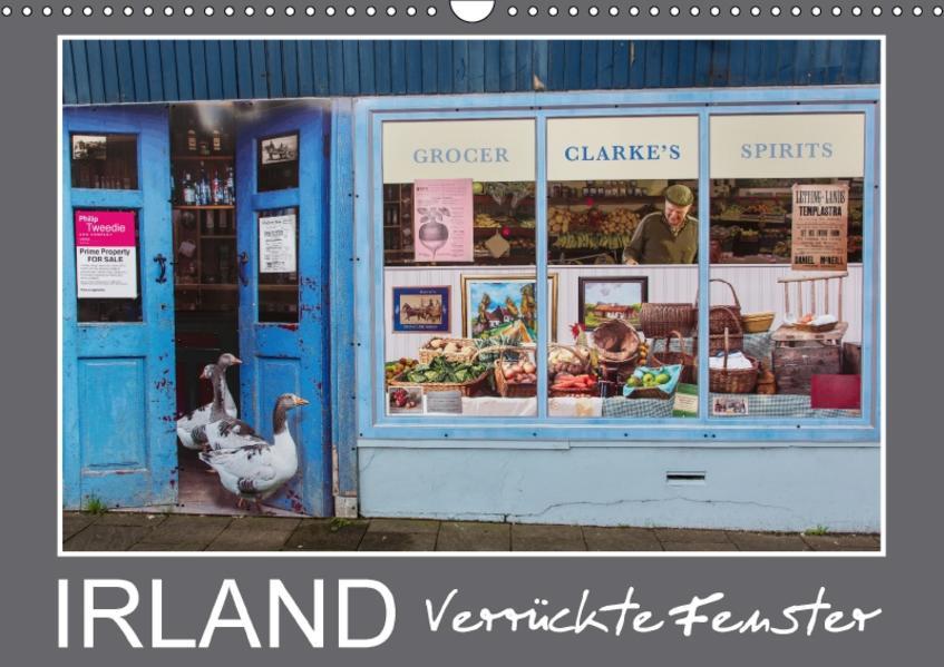 IRLAND - Verrückte Fenster (Wandkalender 2017 DIN A3 quer) - Coverbild