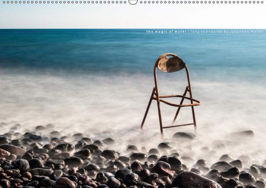 Magie des Wassers. Langzeitbelichtungen von Johannes Müller. (Wandkalender 2017 DIN A2 quer) - Coverbild