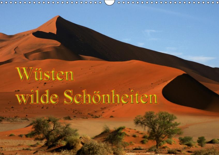 Wüsten, wilde Schönheiten (Wandkalender 2017 DIN A3 quer) - Coverbild