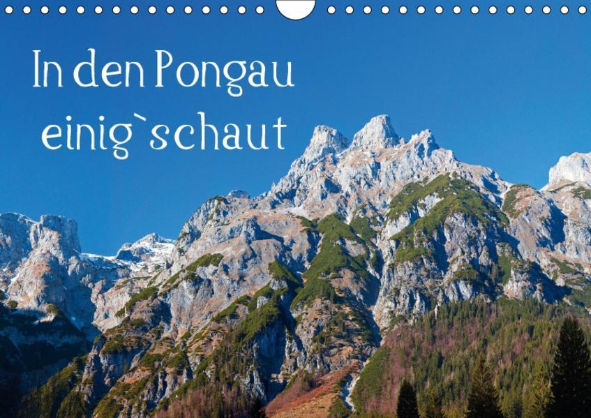 In den Pongau einig`schautAT-Version  (Wandkalender 2017 DIN A4 quer) - Coverbild