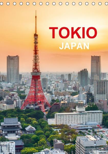 Tokio - Japan (Tischkalender 2017 DIN A5 hoch) - Coverbild