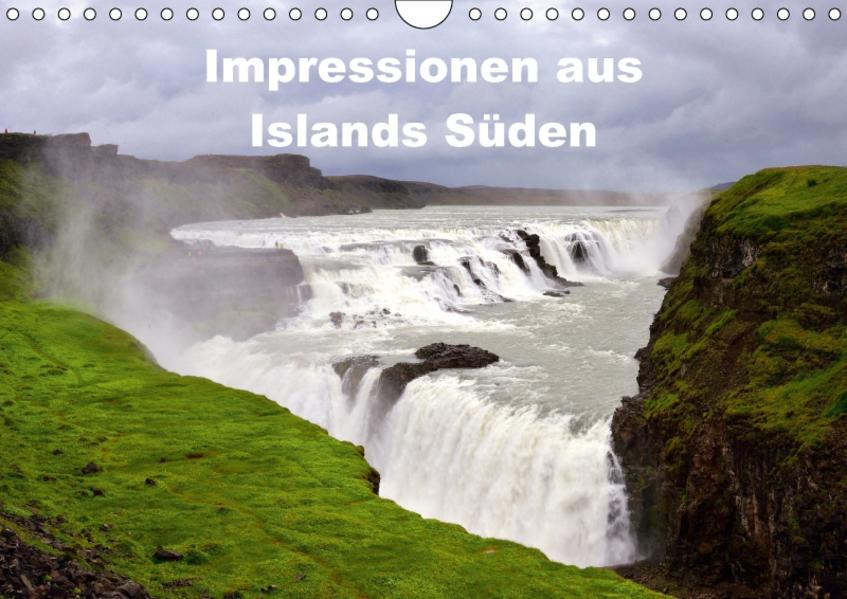 Impressionen aus Islands SüdenCH-Version  (Wandkalender 2017 DIN A4 quer) - Coverbild