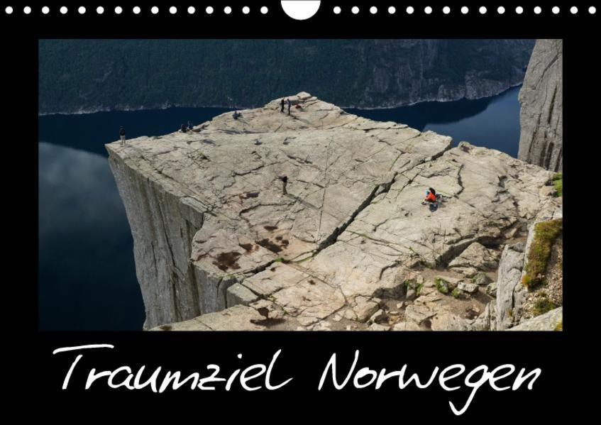 Traumziel Norwegen (Wandkalender 2017 DIN A4 quer) - Coverbild