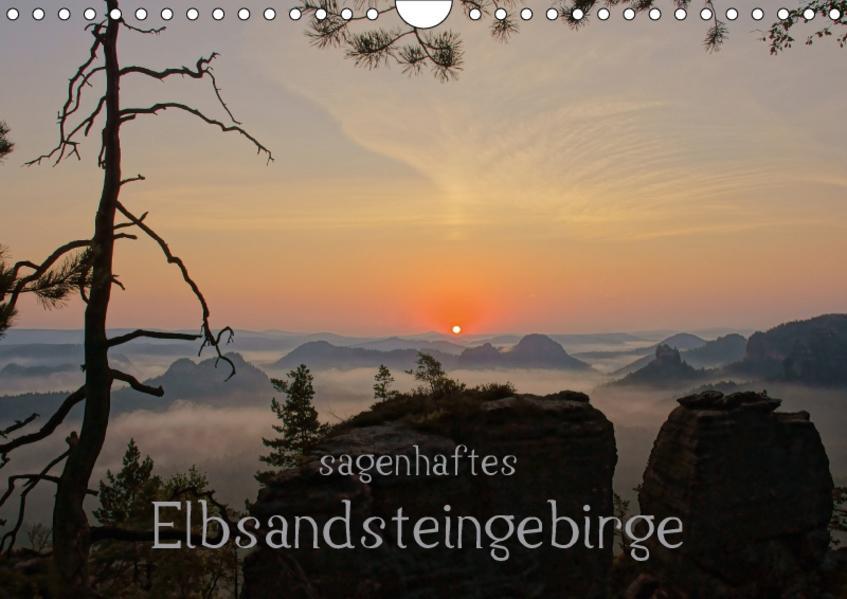 Sagenhaftes Elbsandsteingebirge (Wandkalender 2017 DIN A4 quer) - Coverbild