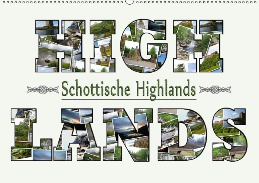 Schottische Highlands (Wandkalender 2017 DIN A2 quer) - Coverbild