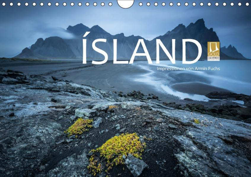 Island Impressionen von Armin Fuchs (Wandkalender 2017 DIN A4 quer) - Coverbild