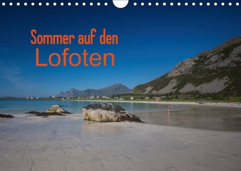Sommer auf den LofotenAT-Version  (Wandkalender 2017 DIN A4 quer) - Coverbild