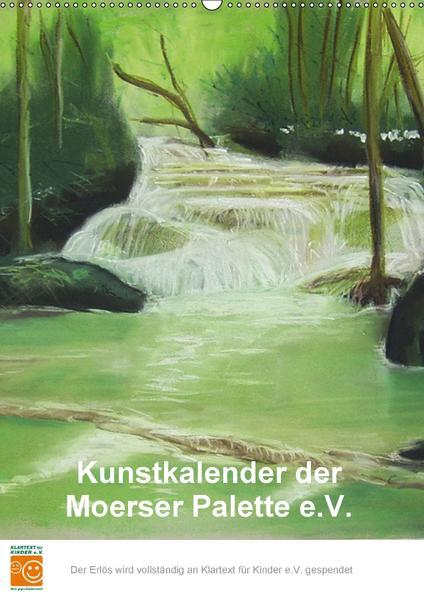 Kunstkalender der Moerser Palette e.V. (Wandkalender 2017 DIN A2 hoch) - Coverbild