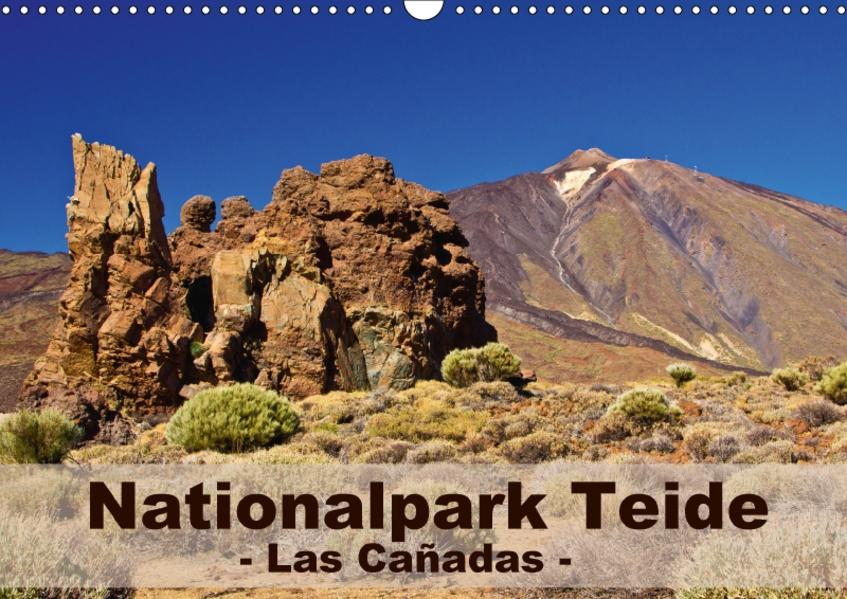 Nationalpark Teide - Las Cañadas (Wandkalender 2017 DIN A3 quer) - Coverbild