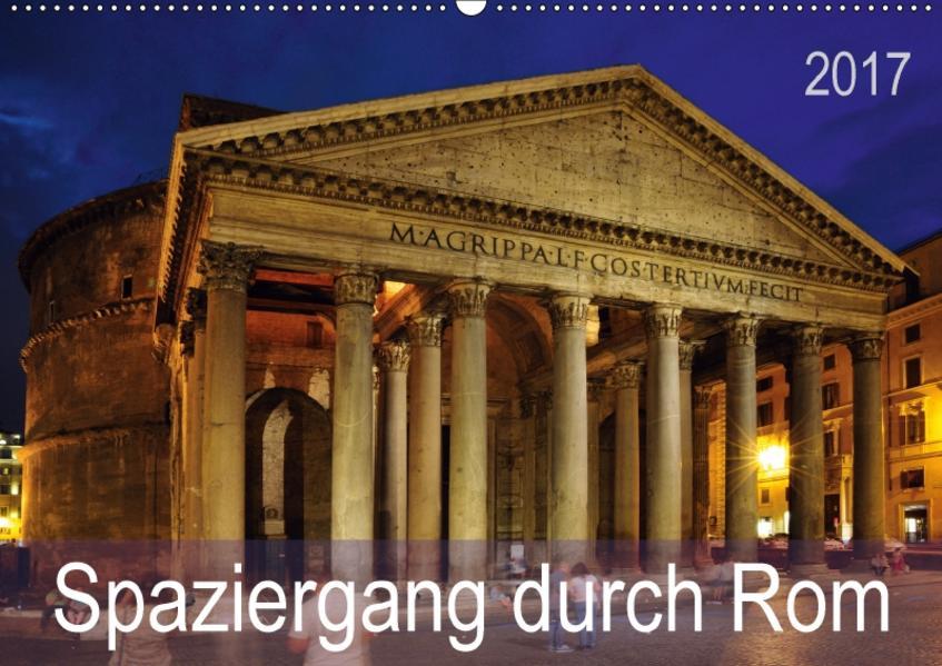 Spaziergang durch Rom (Wandkalender 2017 DIN A2 quer) - Coverbild
