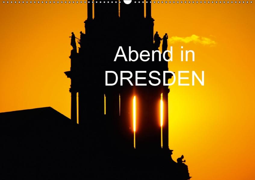 Abend in DresdenAT-Version  (Wandkalender 2017 DIN A2 quer) - Coverbild