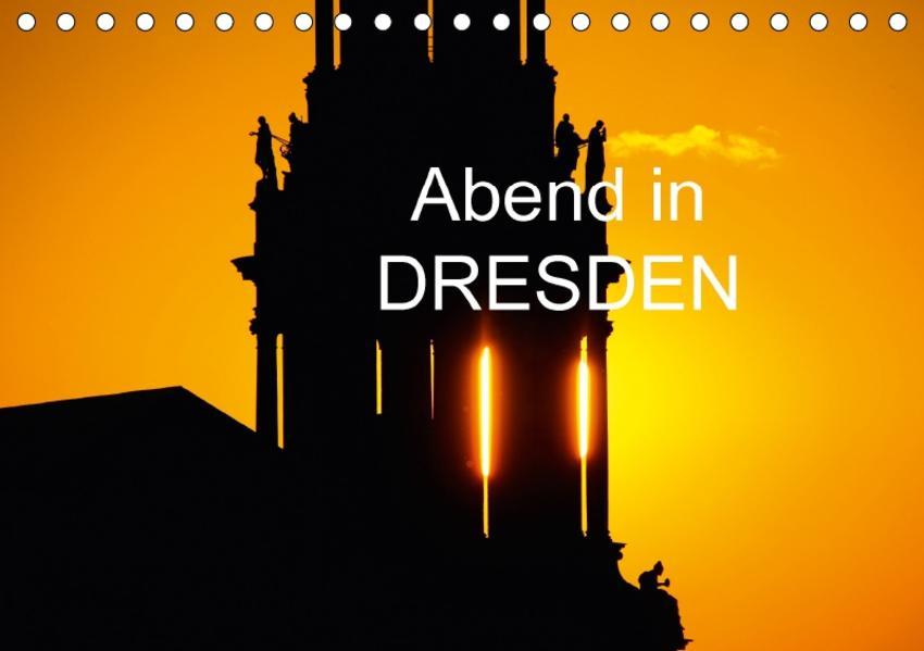 Abend in DresdenAT-Version  (Tischkalender 2017 DIN A5 quer) - Coverbild