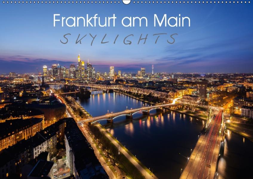 Frankfurt am Main Skylights (Wandkalender 2017 DIN A2 quer) - Coverbild