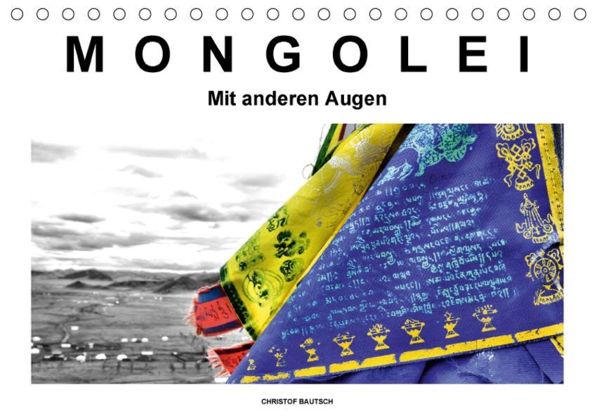 Mongolei – Mit anderen Augen (Tischkalender 2017 DIN A5 quer) - Coverbild