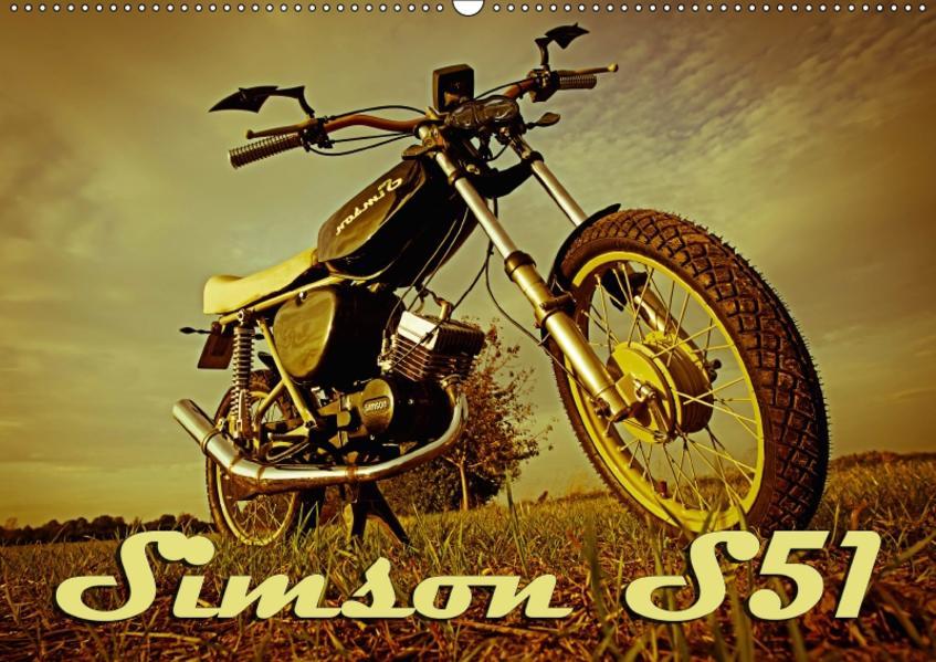 Simson S51 (Wandkalender 2017 DIN A2 quer) - Coverbild