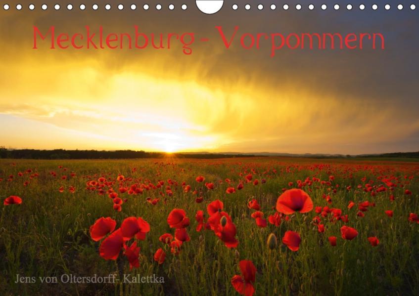 Mecklenburg - Vorpommern (Wandkalender 2017 DIN A4 quer) - Coverbild