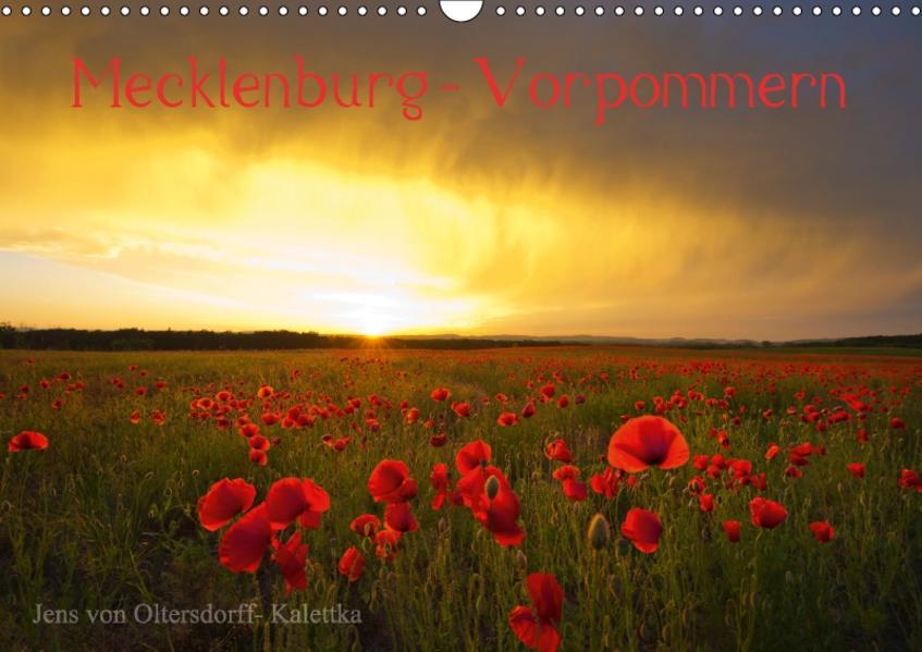 Mecklenburg - Vorpommern (Wandkalender 2017 DIN A3 quer) - Coverbild