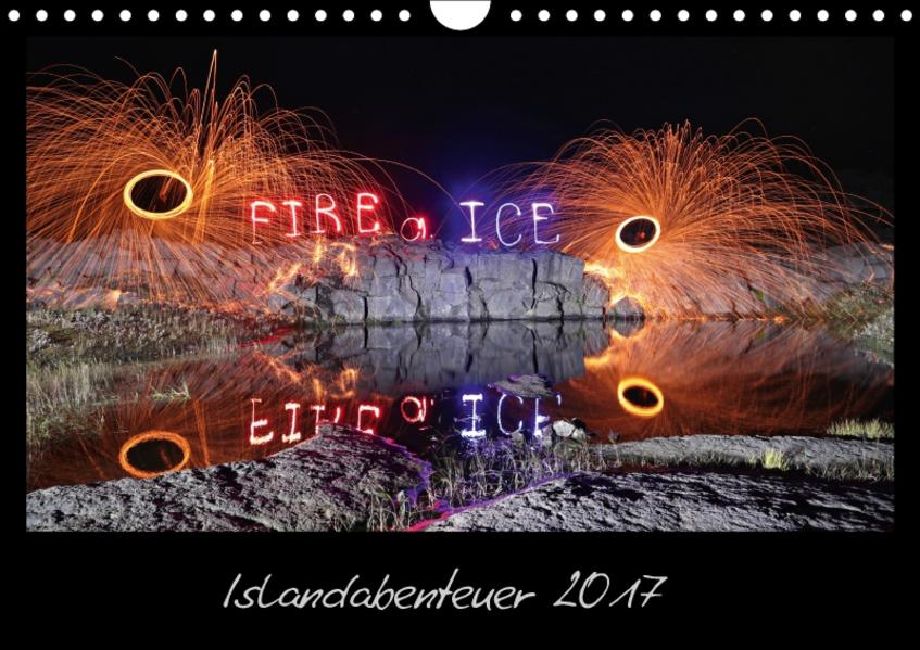 Islandabenteuer 2017 (Wandkalender 2017 DIN A4 quer) - Coverbild