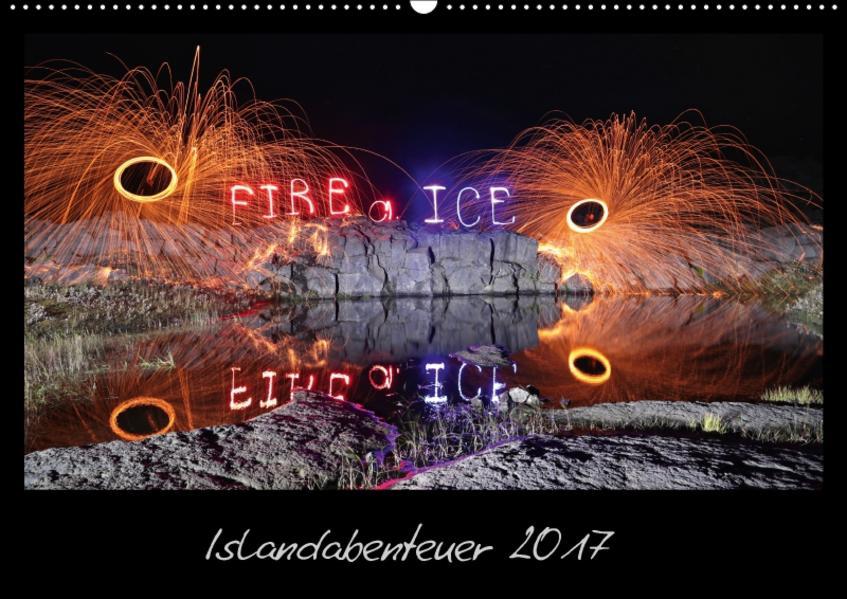Islandabenteuer 2017 (Wandkalender 2017 DIN A2 quer) - Coverbild
