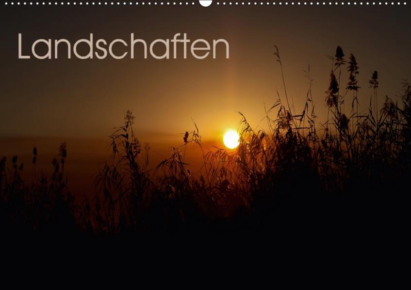 Landschaften (Wandkalender 2017 DIN A2 quer) - Coverbild