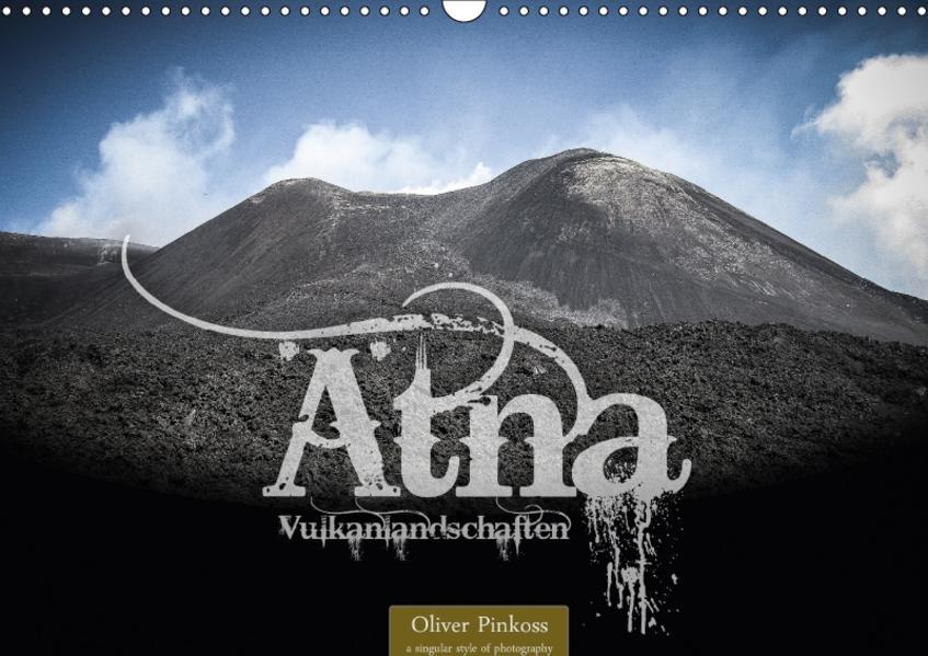 Ätna - Vulkanlandschaften (Wandkalender 2017 DIN A3 quer) - Coverbild