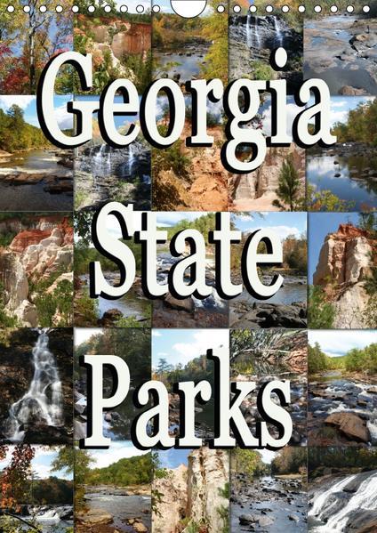 Georgia State Parks (Wandkalender 2017 DIN A4 hoch) - Coverbild