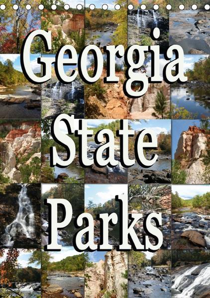 Georgia State Parks (Tischkalender 2017 DIN A5 hoch) - Coverbild