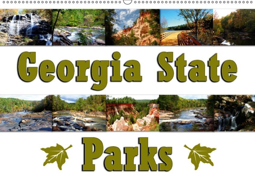 Georgia State Parks (Wandkalender 2017 DIN A2 quer) - Coverbild