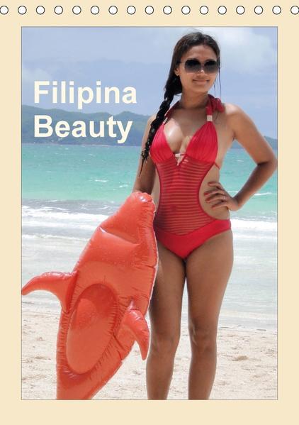 Filipina Beauty (Tischkalender 2017 DIN A5 hoch) - Coverbild