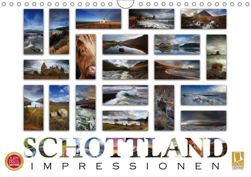 Schottland Impressionen (Wandkalender 2017 DIN A4 quer) - Coverbild