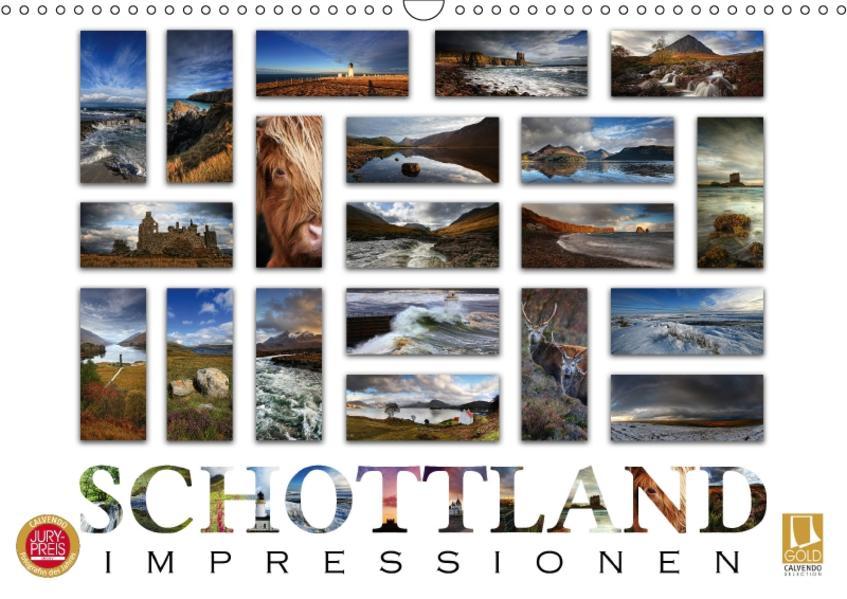 Schottland Impressionen (Wandkalender 2017 DIN A3 quer) - Coverbild