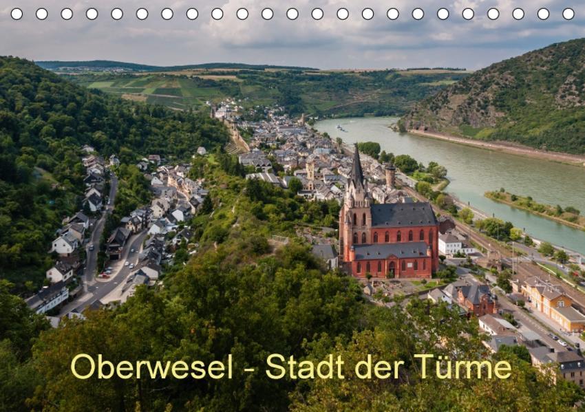 Oberwesel - Stadt der Türme (Tischkalender 2017 DIN A5 quer) - Coverbild