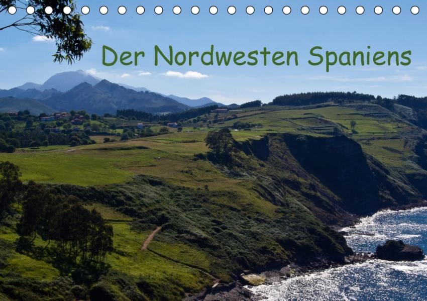 Der Nordwesten Spaniens (Tischkalender 2017 DIN A5 quer) - Coverbild