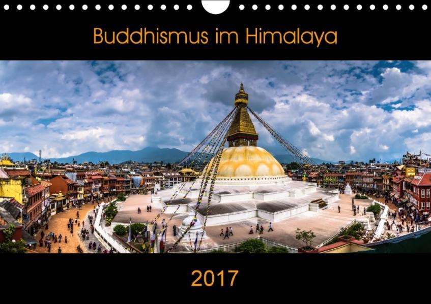 Buddhismus im Himalaya (Wandkalender 2017 DIN A4 quer) - Coverbild