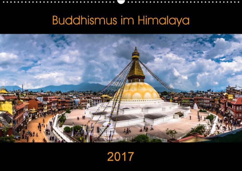 Buddhismus im Himalaya (Wandkalender 2017 DIN A2 quer) - Coverbild