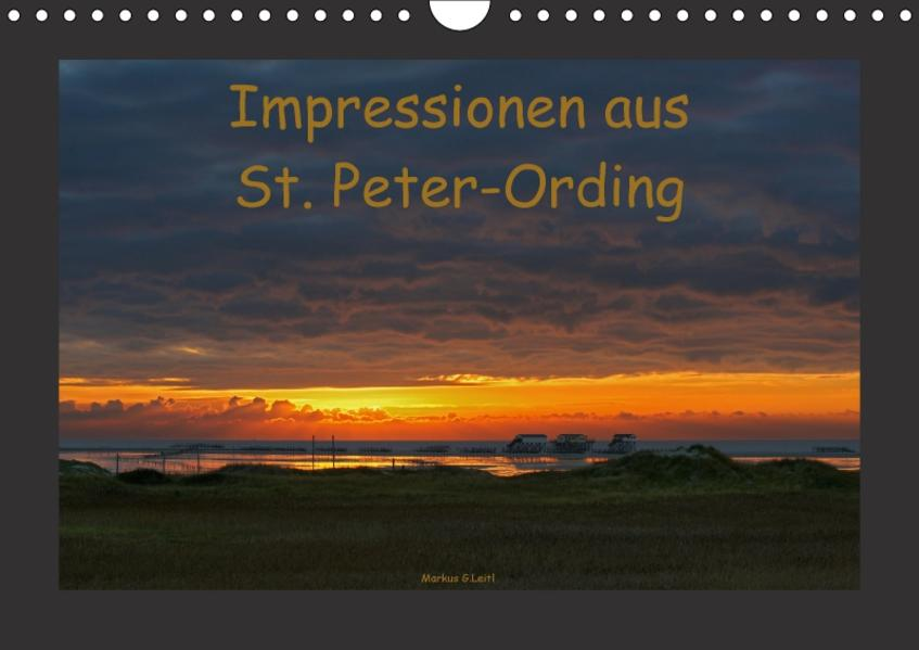 Impressionen aus St. Peter-Ording (Wandkalender 2017 DIN A4 quer) - Coverbild