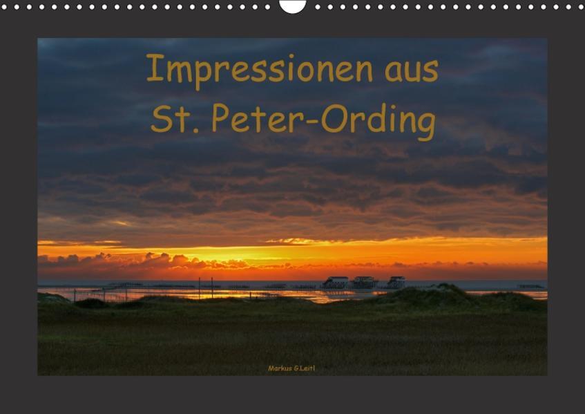 Impressionen aus St. Peter-Ording (Wandkalender 2017 DIN A3 quer) - Coverbild
