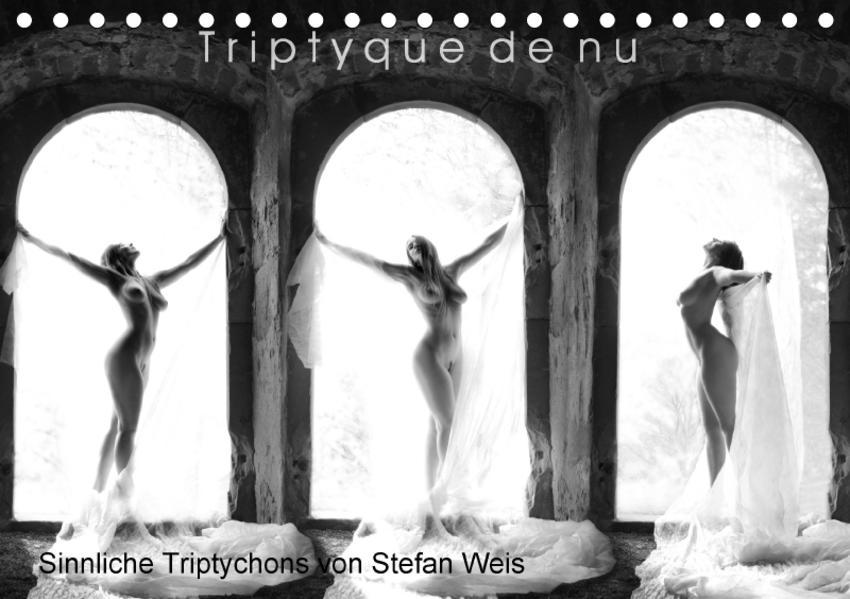 Triptyque de nu - Sinnliche Tryptichons (Tischkalender 2017 DIN A5 quer) - Coverbild