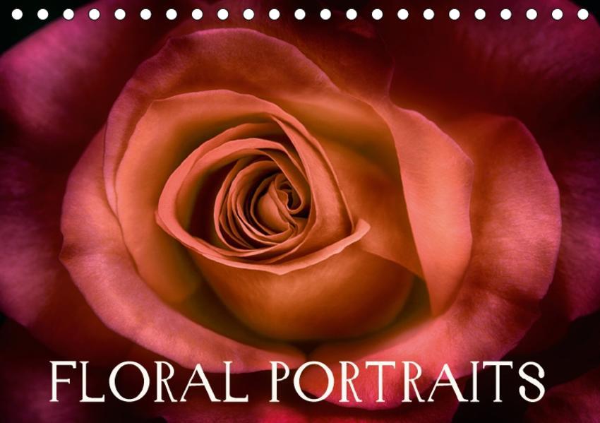 Floral Portraits - Blumen Impression (Tischkalender 2017 DIN A5 quer) - Coverbild