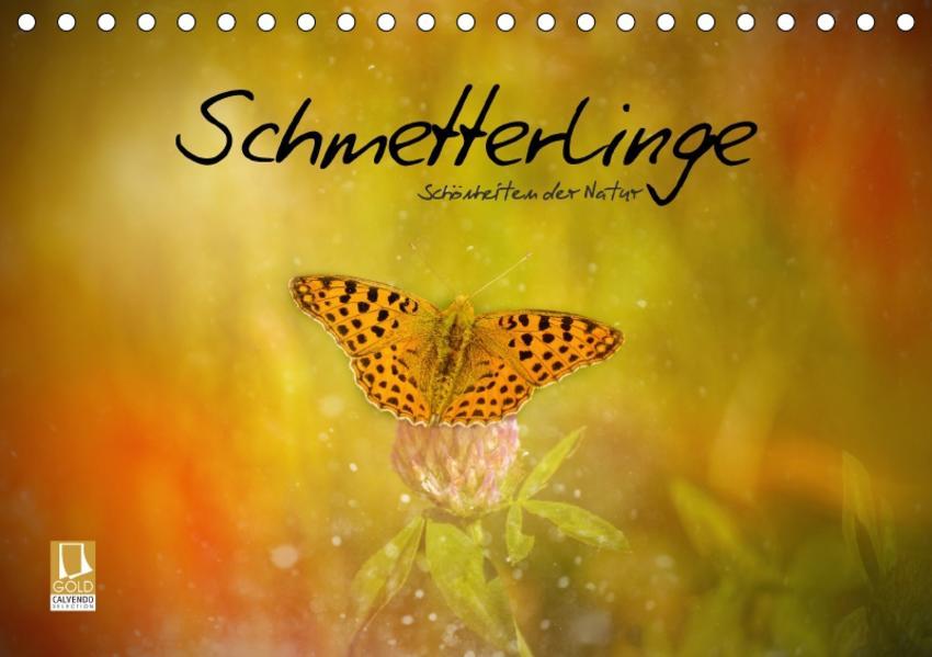 Schmetterlinge - Schönheiten der Natur (Tischkalender 2017 DIN A5 quer) - Coverbild