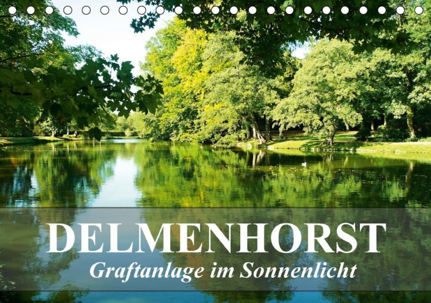 DELMENHORST - Graftanlage im Sonnenlicht (Tischkalender 2017 DIN A5 quer) - Coverbild