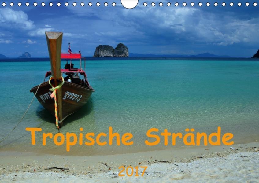 Tropische Strände (Wandkalender 2017 DIN A4 quer) - Coverbild