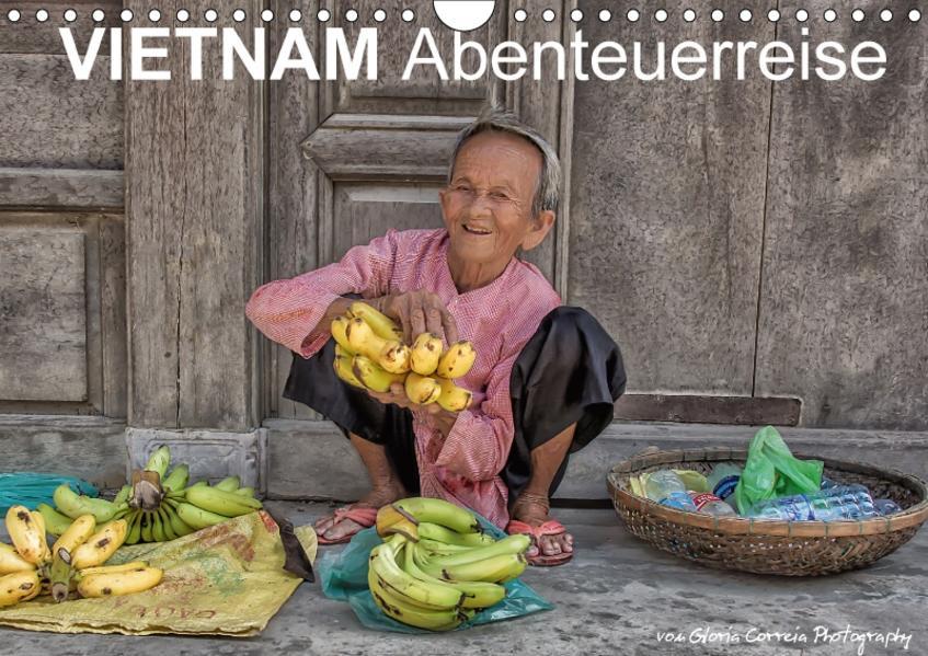Vietnam Abenteuerreise (Wandkalender 2017 DIN A4 quer) - Coverbild