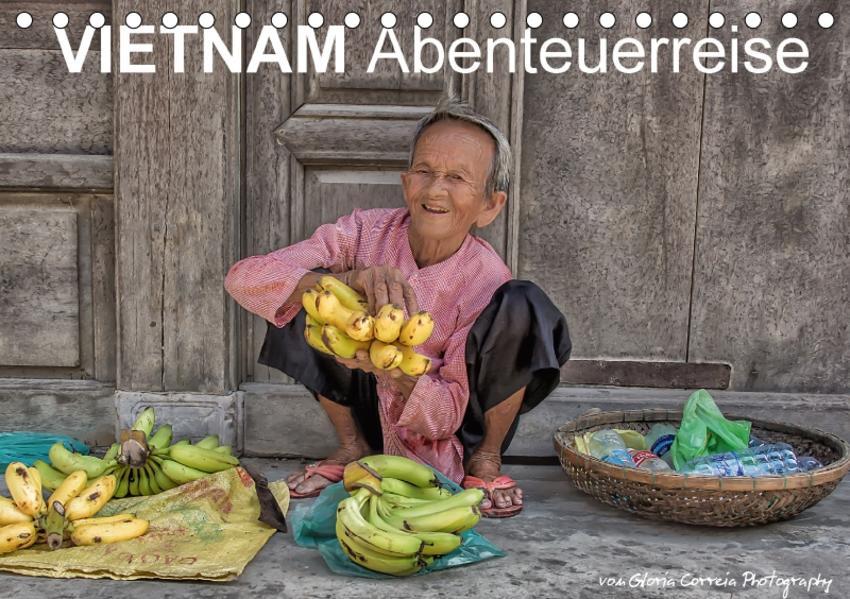 Vietnam Abenteuerreise (Tischkalender 2017 DIN A5 quer) - Coverbild
