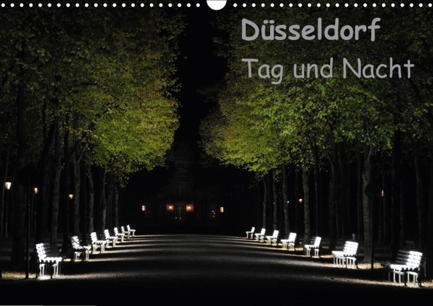 Düsseldorf Tag und Nacht (Wandkalender 2017 DIN A3 quer) - Coverbild