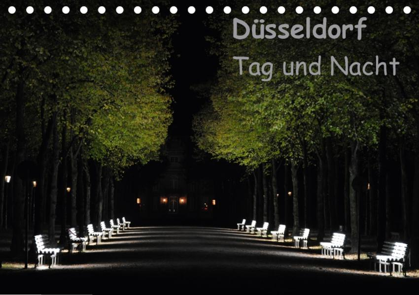 Düsseldorf Tag und Nacht (Tischkalender 2017 DIN A5 quer) - Coverbild