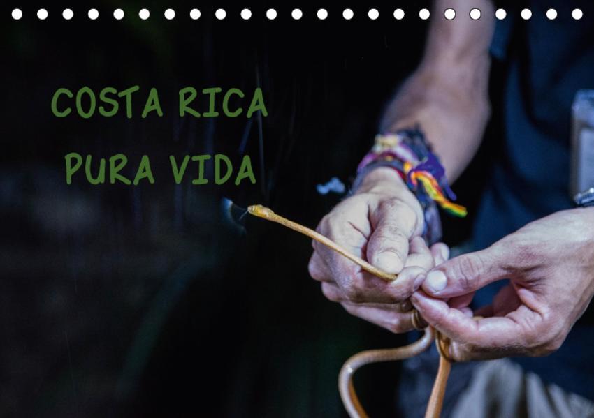 COSTA RICA - PURA VIDAAT-Version  (Tischkalender 2017 DIN A5 quer) - Coverbild